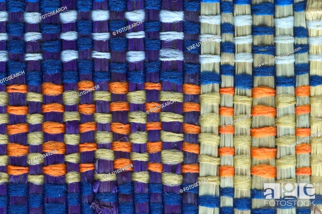 Stock Photo: textiles, wool, garment, rug, carpet, weave.