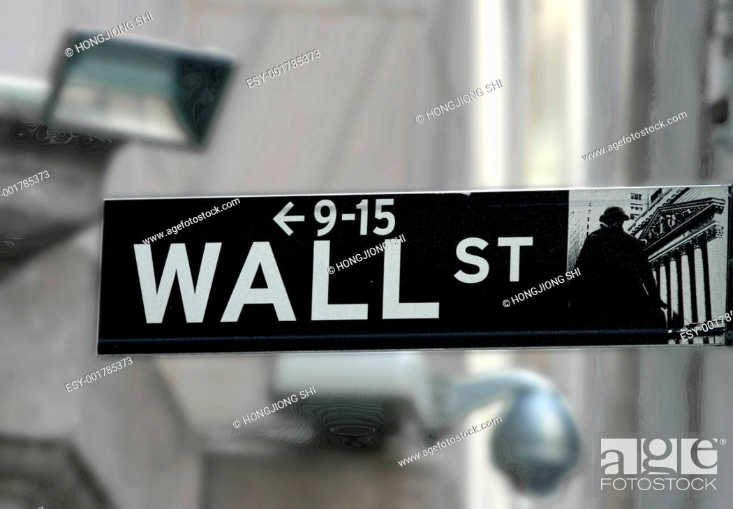 Stock Photo: New York Stock Exchange.