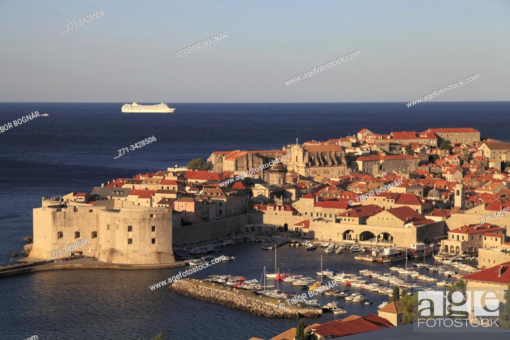 Imagen: Croatia, Dubrovnik, skyline, general view, panorama.