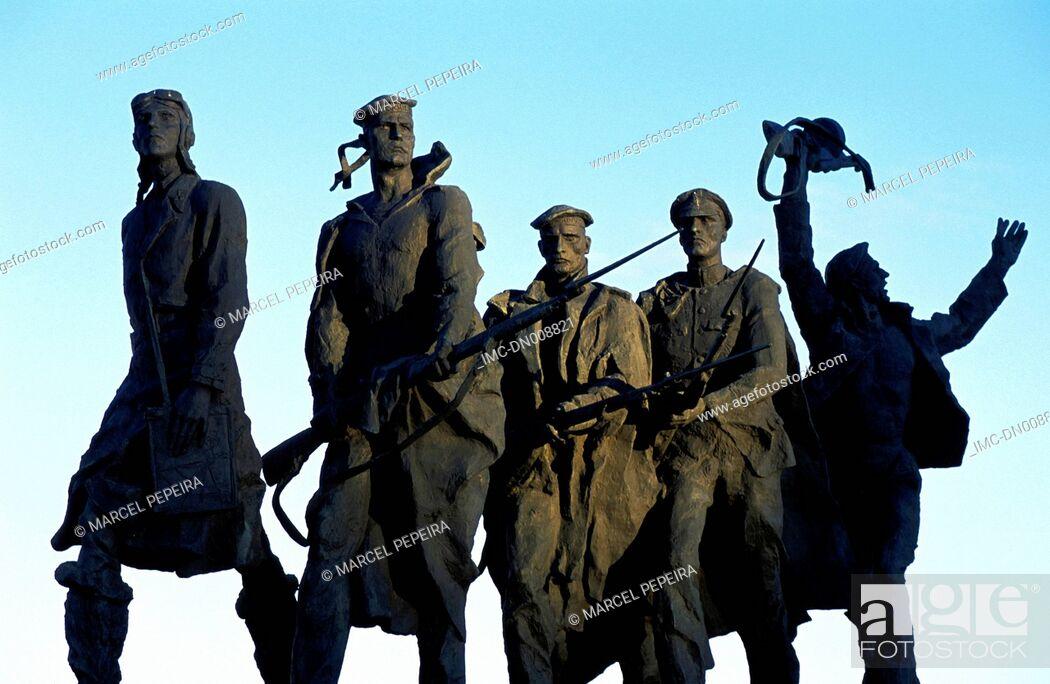 Imagen: Russia, St Petersburg, blockade memorial.