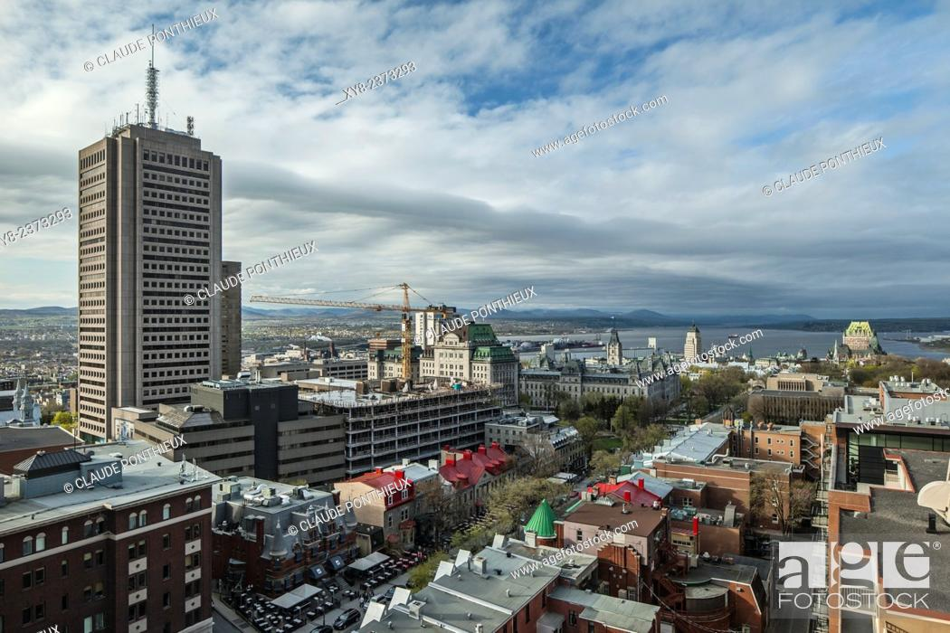 Stock Photo: Quebec City, Quebec, Canada.