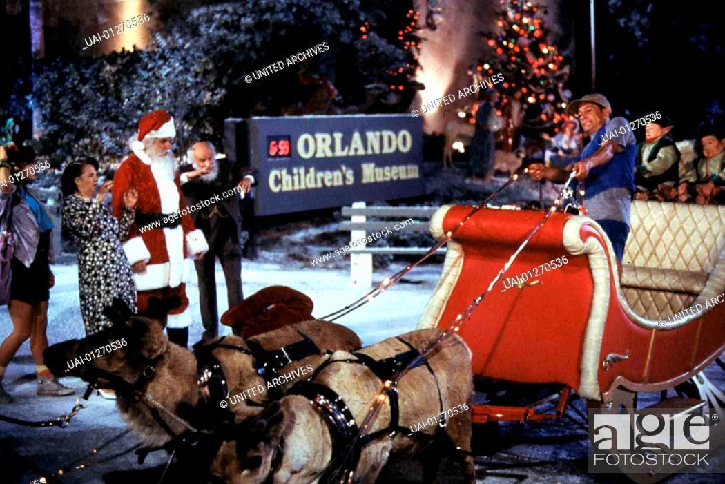 Stock Photo - Ernst Rettet Weihnachten, Ernest Saves Christmas, Ernst Rettet Weihnachten, Ernest Saves Christmas, Jim Varney (r) *** Local Caption *** 1988