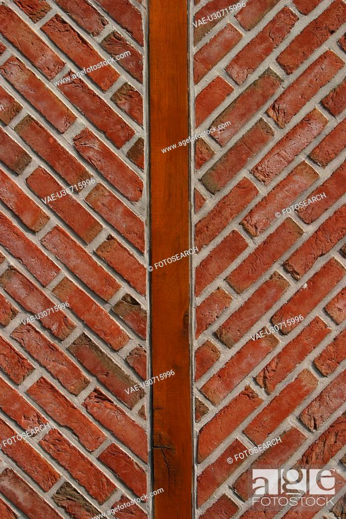 Stock Photo: brickwork, arrangement, bricks, pattern, wall, appearance.