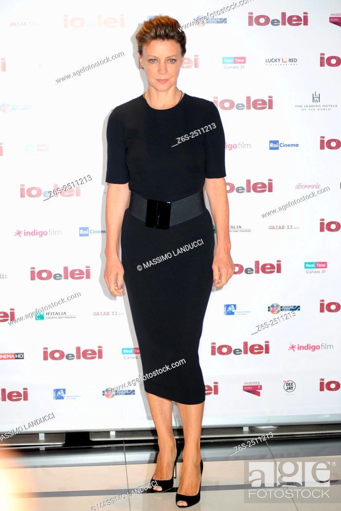 Stock Photo: Margherita Buy;buy ; actress; celebrities; 2015; rome; italy; event; photocall ; io e lei.