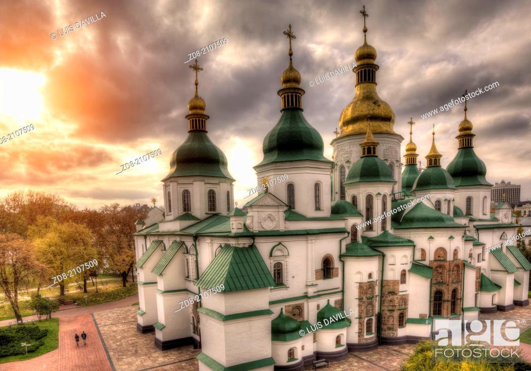 Stock Photo: st.sophia cathedral in kiev.ukraine.