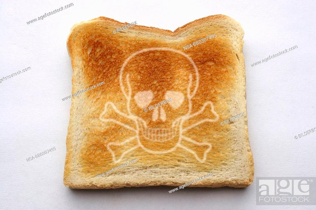 slice of toast stock photo picture and rights managed image pic