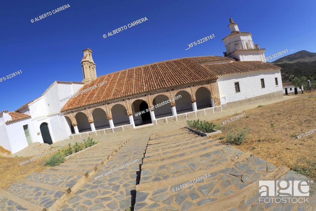 Stock Photo: Ermita de Nuestra Señora del Ara, Fuente del Arco, Badajoz, Extremadura, Spain, Europe.
