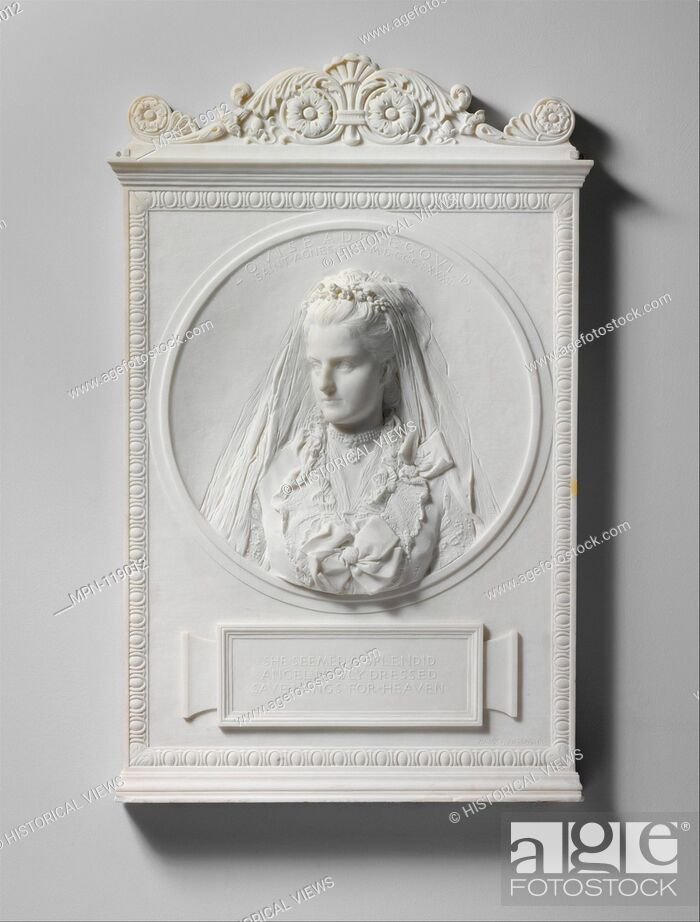 Stock Photo: Louise Adele Gould. Artist: Augustus Saint-Gaudens (American, Dublin 1848-1907 Cornish, New Hampshire); Date: 1893, carved 1894; Medium: Marble; Dimensions: 40.