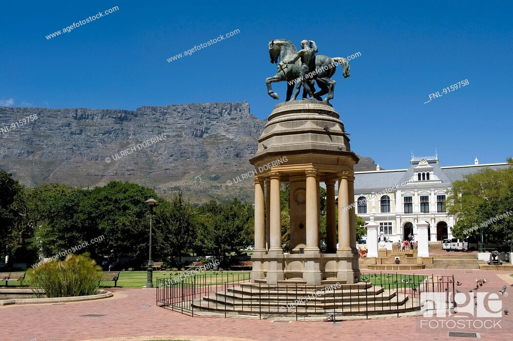 Stock Photo: Brotherhood Monument, Cape Town, South Africa.