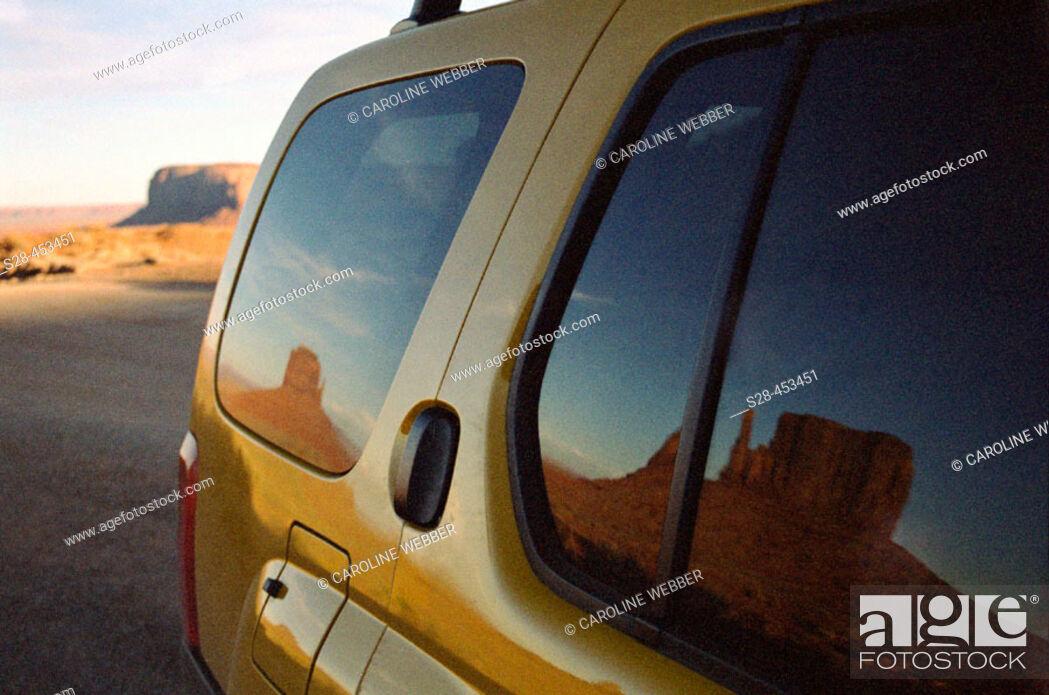 Stock Photo: Monument Valley Navajo Tribal Park, near town of Kayenta, Arizona, USA.