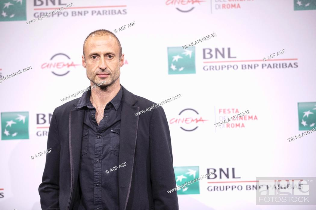 """Stock Photo: Gabriel Range attends the photocall of the movie """"""""Stardust"""""""" during the 15th Rome Film Festival on October 16, 2020 in Rome, Italy."""
