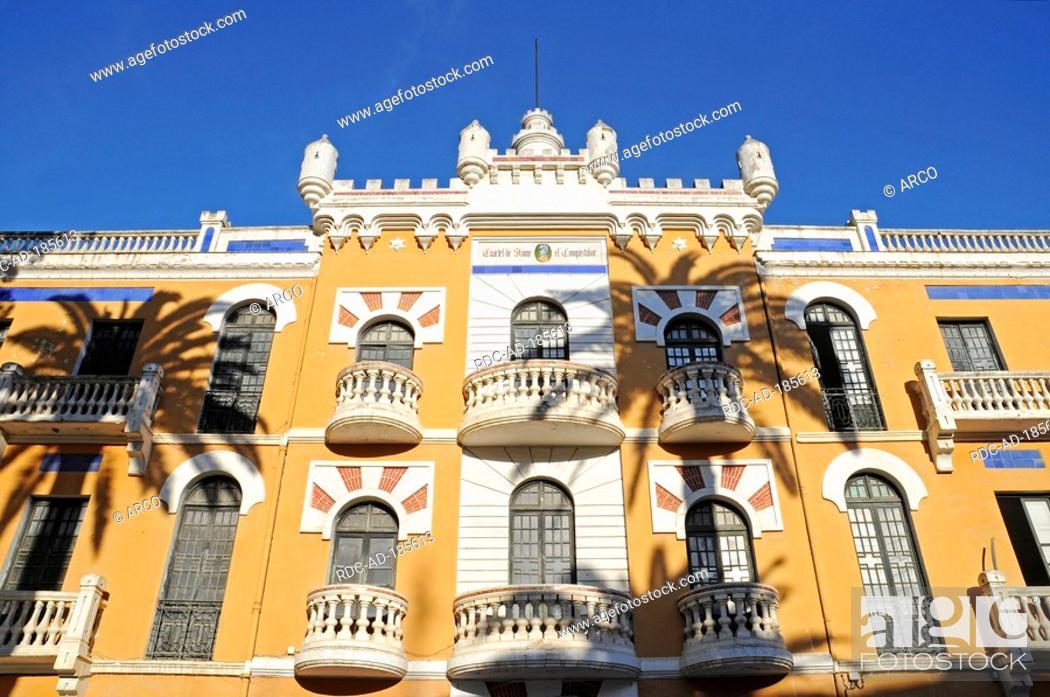Stock Photo: Centre of culture, former barracks, Murcia, Spain.