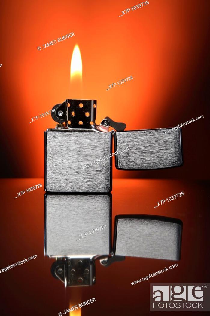 Stock Photo: Cigarette Lighter,.