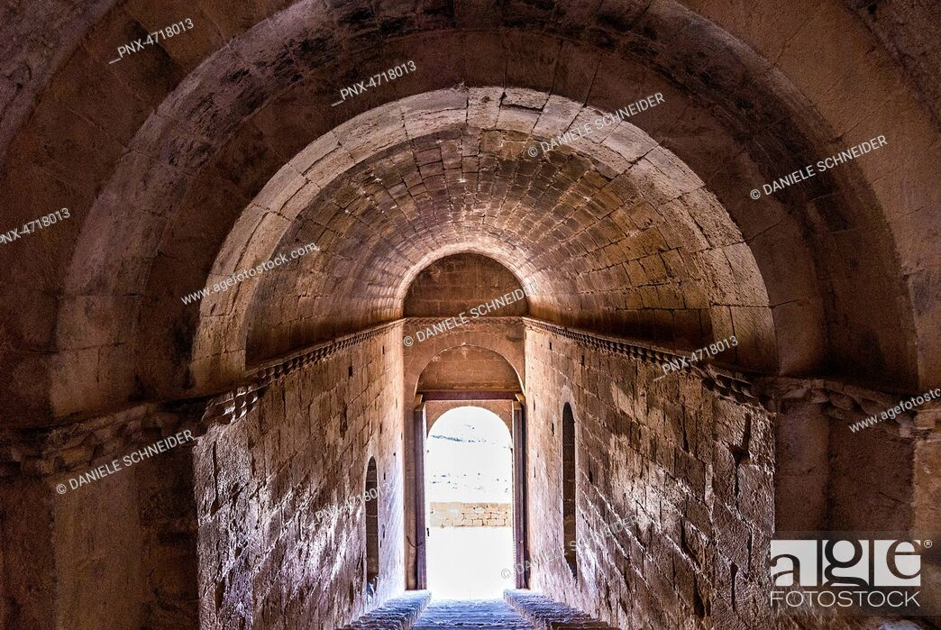 Imagen: Spain, Autonomous Community of Aragon, province of Huesca, fortress of Loarre (11th-13th century).