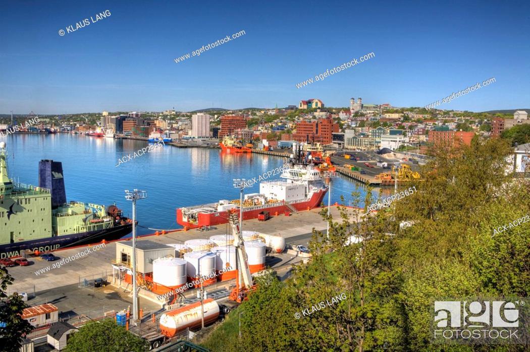 Stock Photo: St. John's, Newfoundland, Canada.