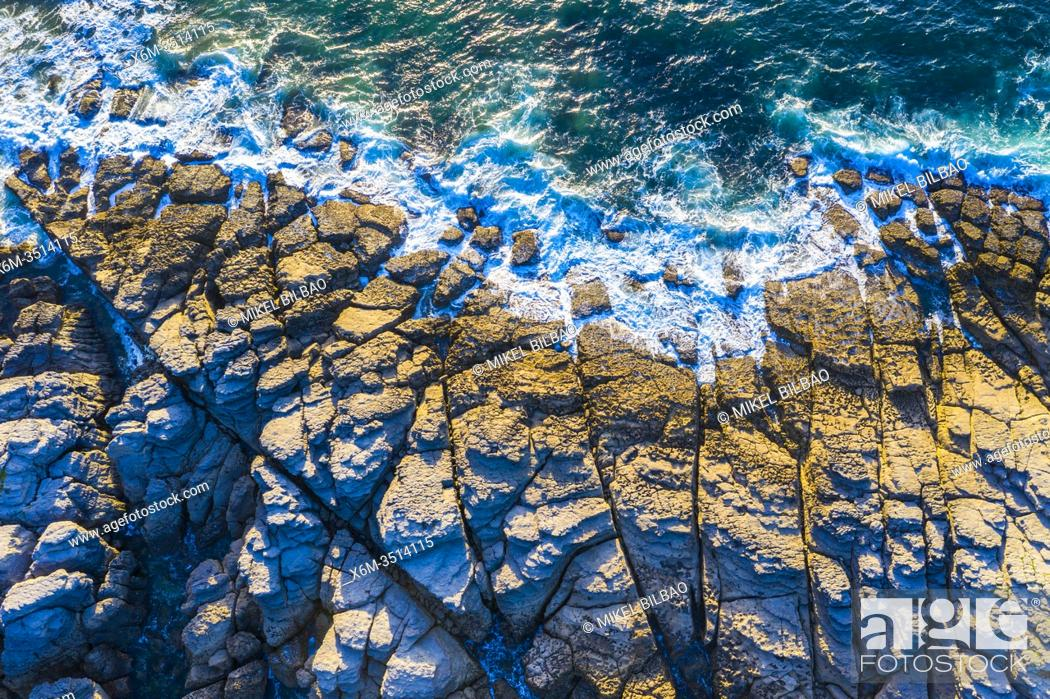 Stock Photo: Coastal landscape. Sonabia (Castro Urdiales) Cantabria, Spain, Europe.