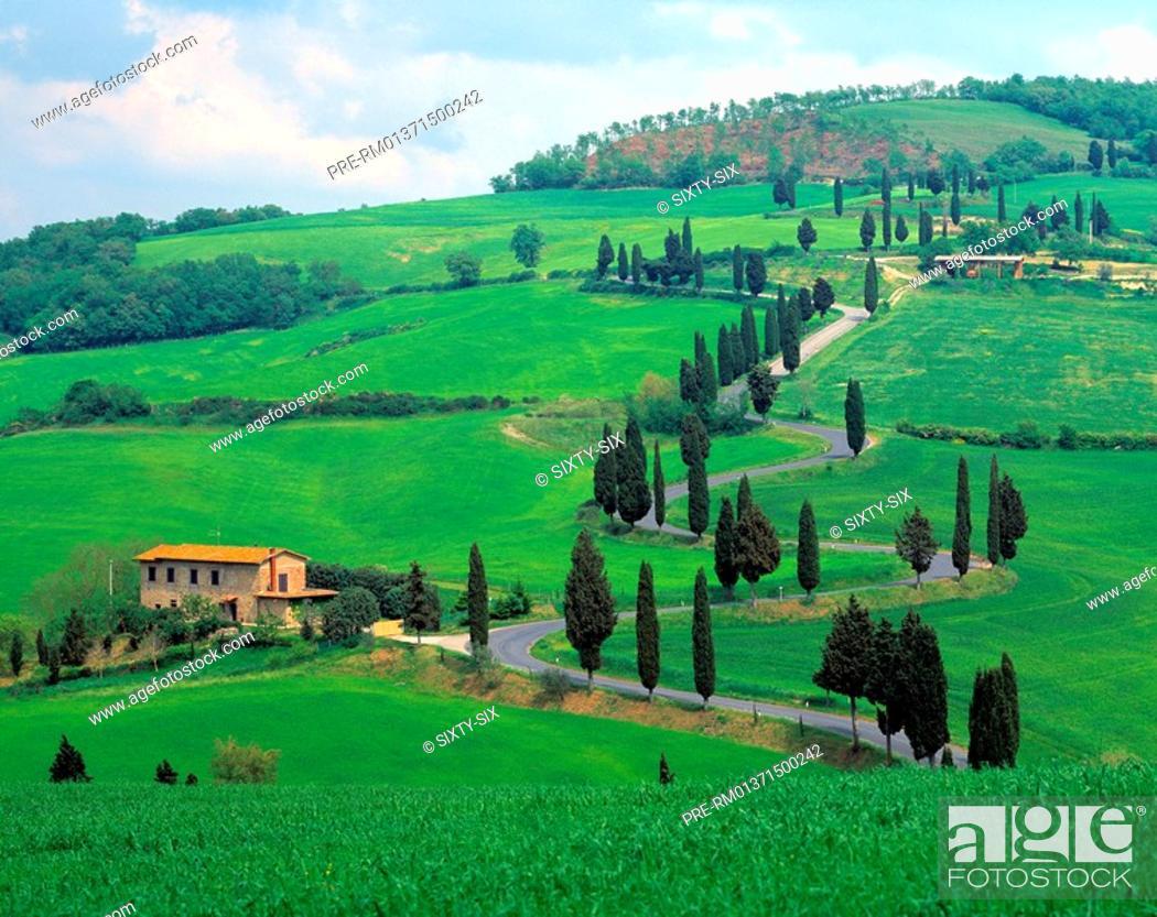 Stock Photo: Tuscany, Italy.