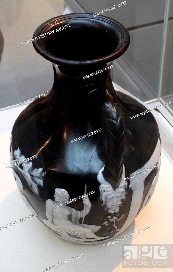 The Portland Vase Cameo Glass Probably Made In Rome About 15 Bc