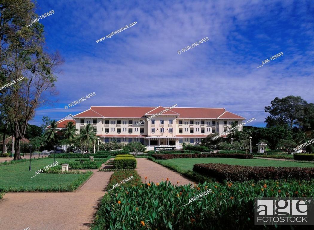 Stock Photo: Hotel. Siem Reap. Cambodia.