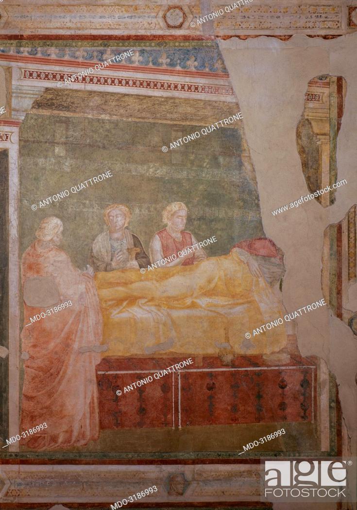 Cappella Peruzzi, by Giotto di Bondone, c  1318-1322, 14th