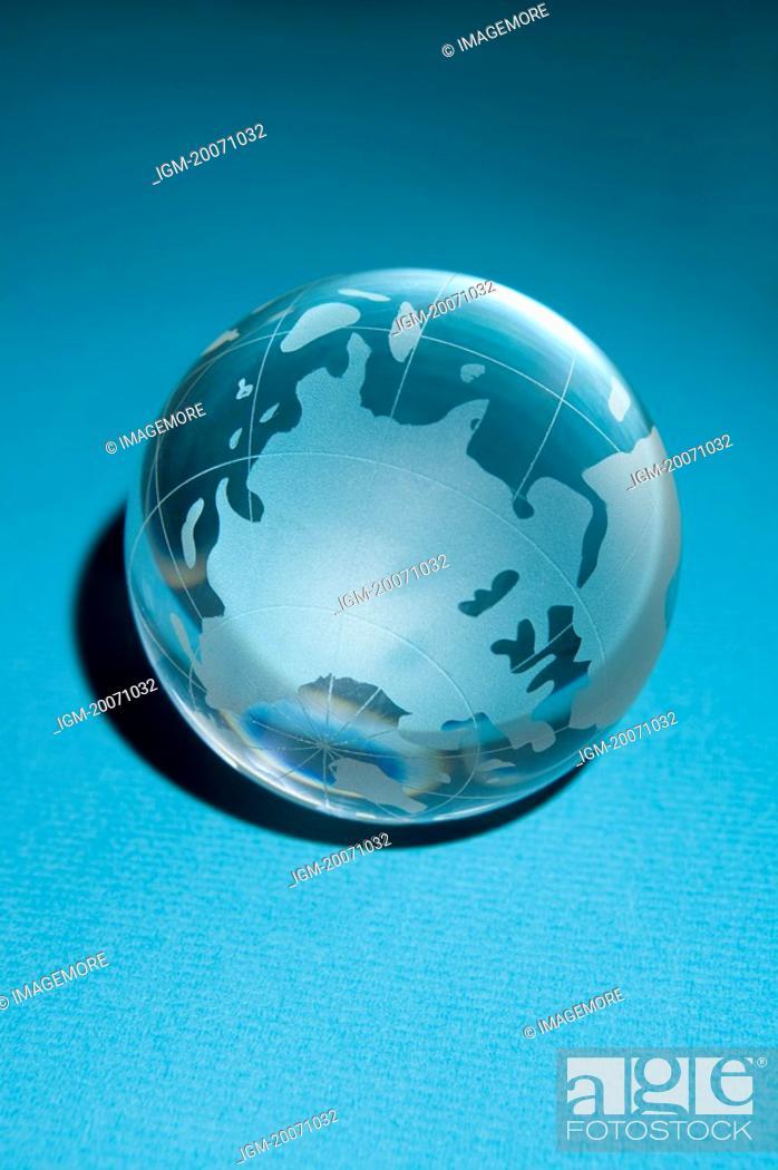 Stock Photo: Crystal Ball, Globe.