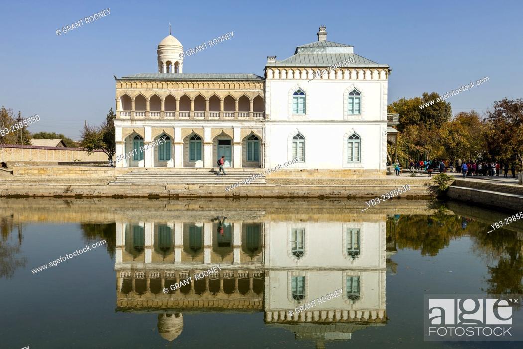 Stock Photo: The Emir. . s Summer Palace, Bukhara, Uzbekistan.