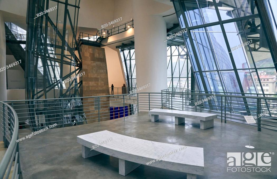 Stock Photo: Guggenheim Museum, Bilbao, Bizkaia, Basque Country, Spain, Europe.