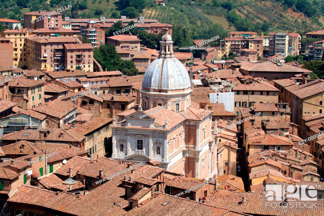 Stock Photo: Siena. Tuscany, Italy.