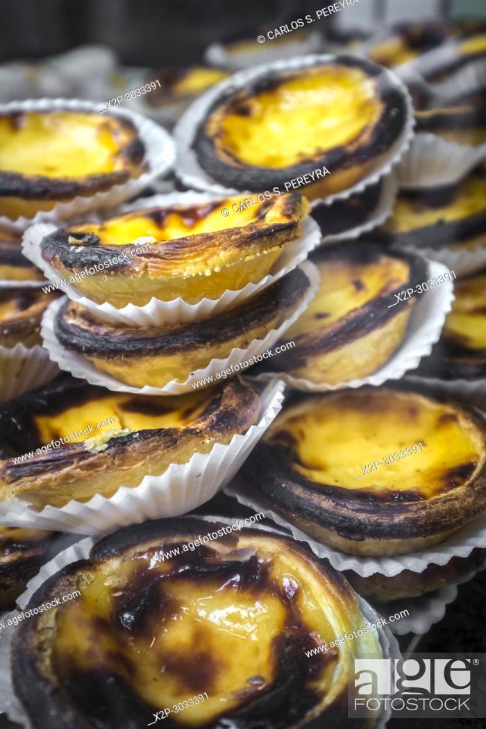 Imagen: Pasteis de Belem, a Portuguese dessert pastry.