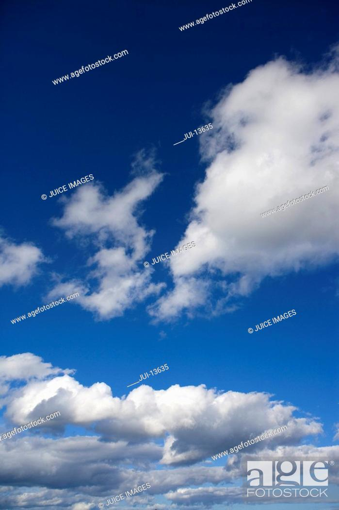 Stock Photo: Clouds in sky.