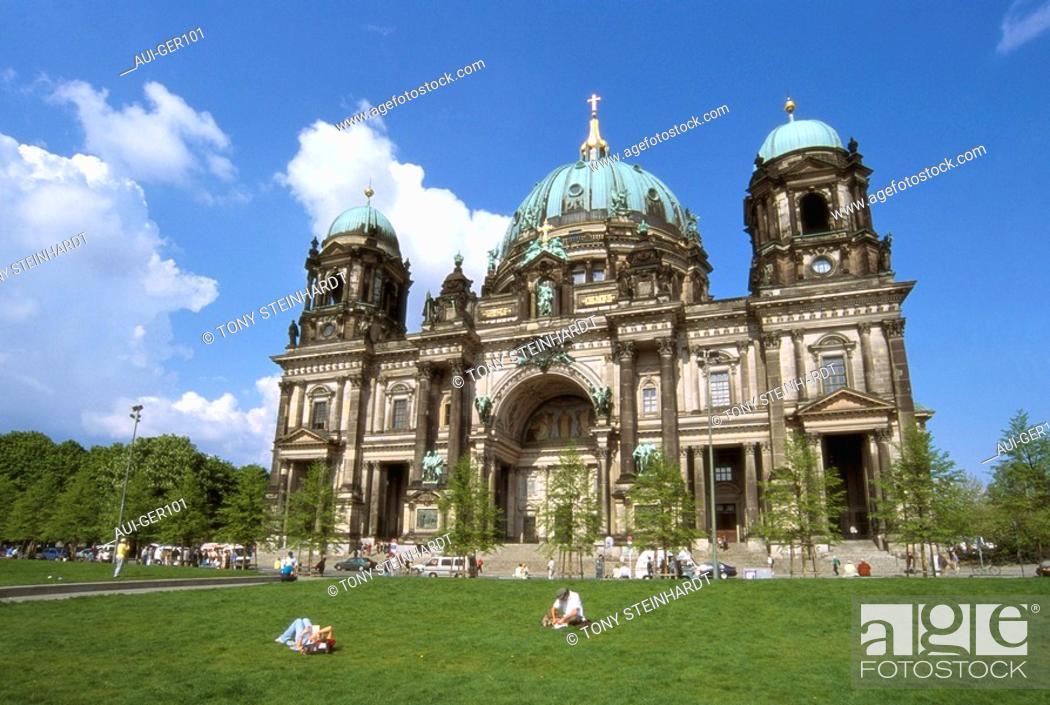 Stock Photo: Germany - Berlin - Berliner Dom.