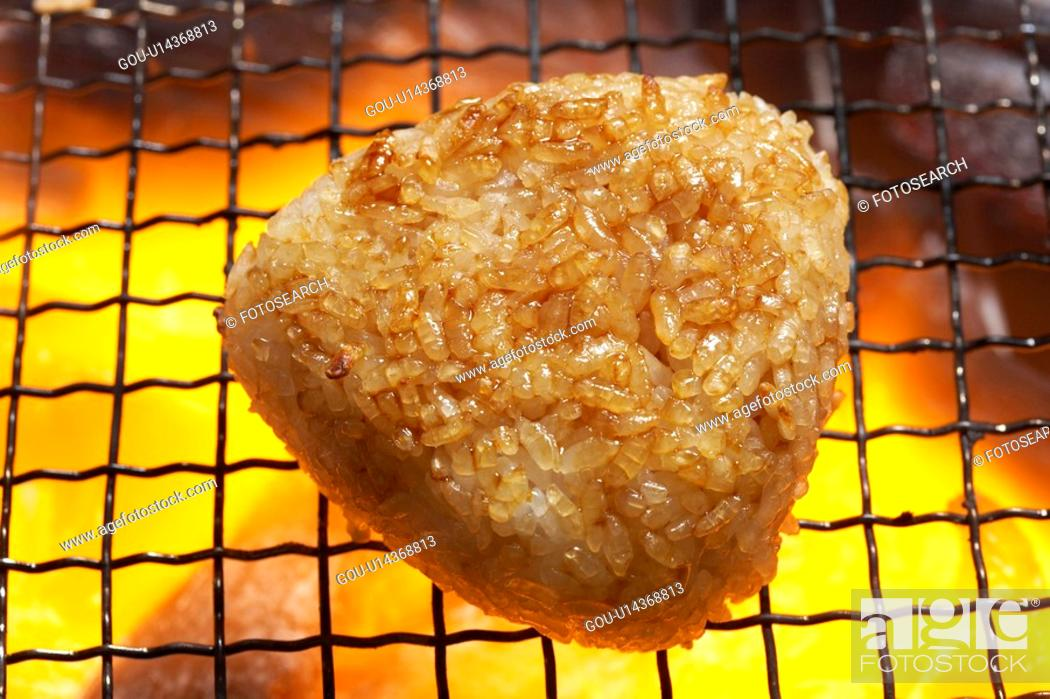 Stock Photo: Rice ball.