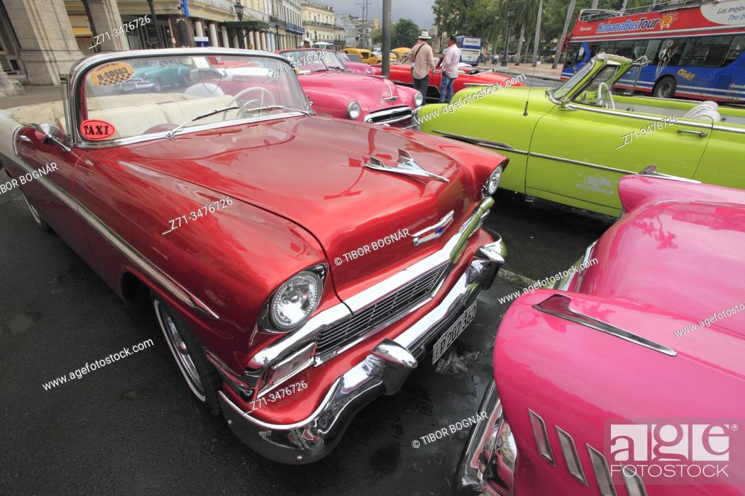 Imagen: Cuba, Havana, vintage car, .