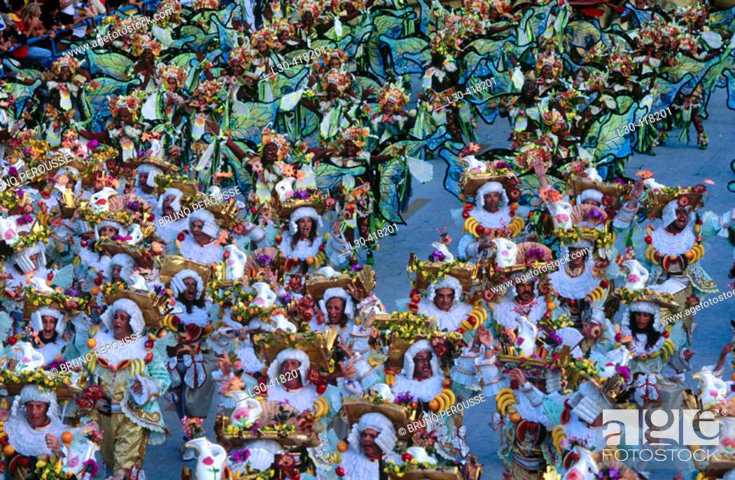 Stock Photo: Carnival, Rio de Janeiro. Brazil.