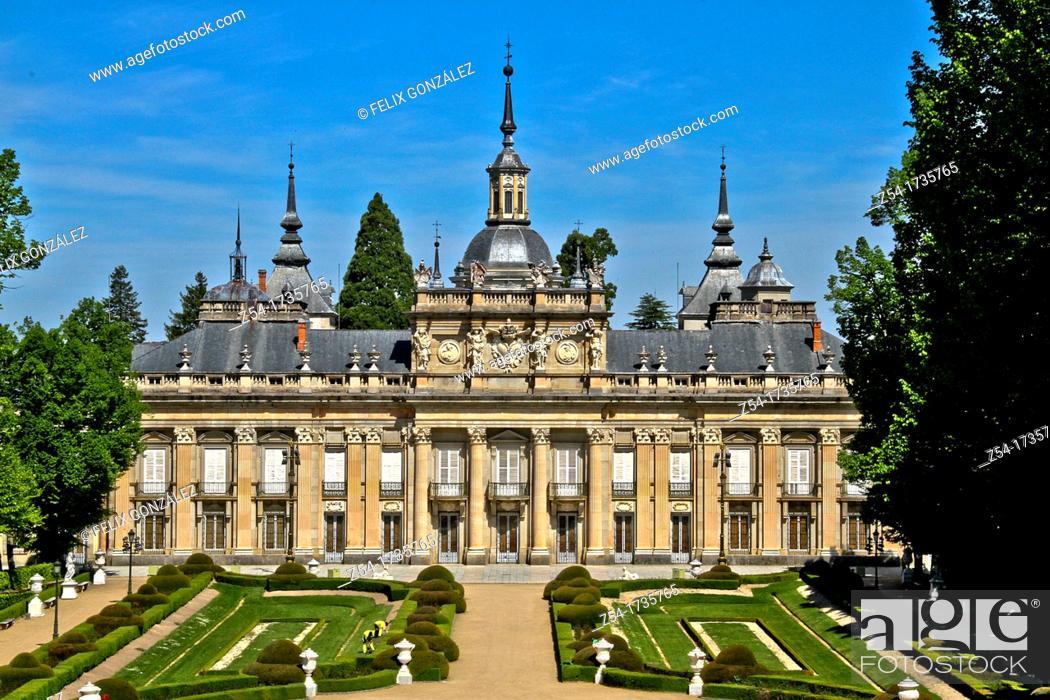 Imagen: La Granja de San Ildefonso, Palacio Real, Segovia, Spain.