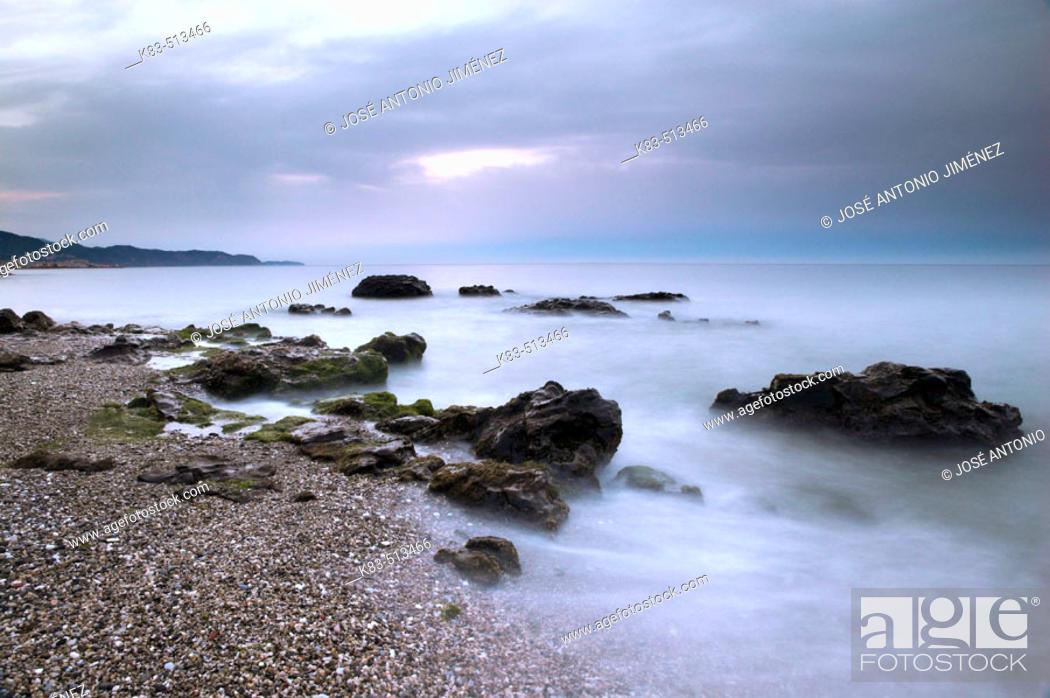 Stock Photo: Axarquia, Costa del Sol. Andalusia, Spain.