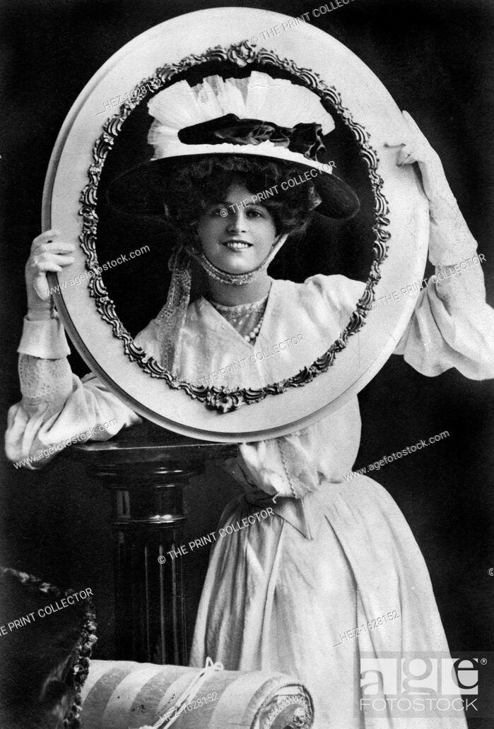 Stock Photo: Marie Studholme (1875-1930), English actress, 1904.