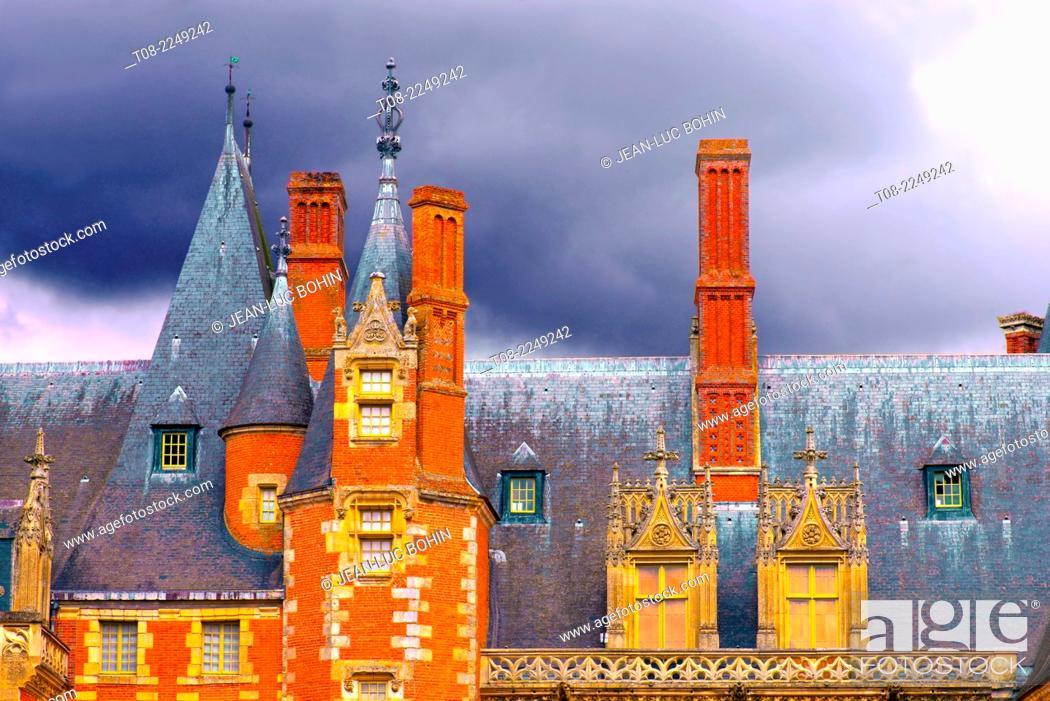 Imagen: france, 28 : maintenon castle.