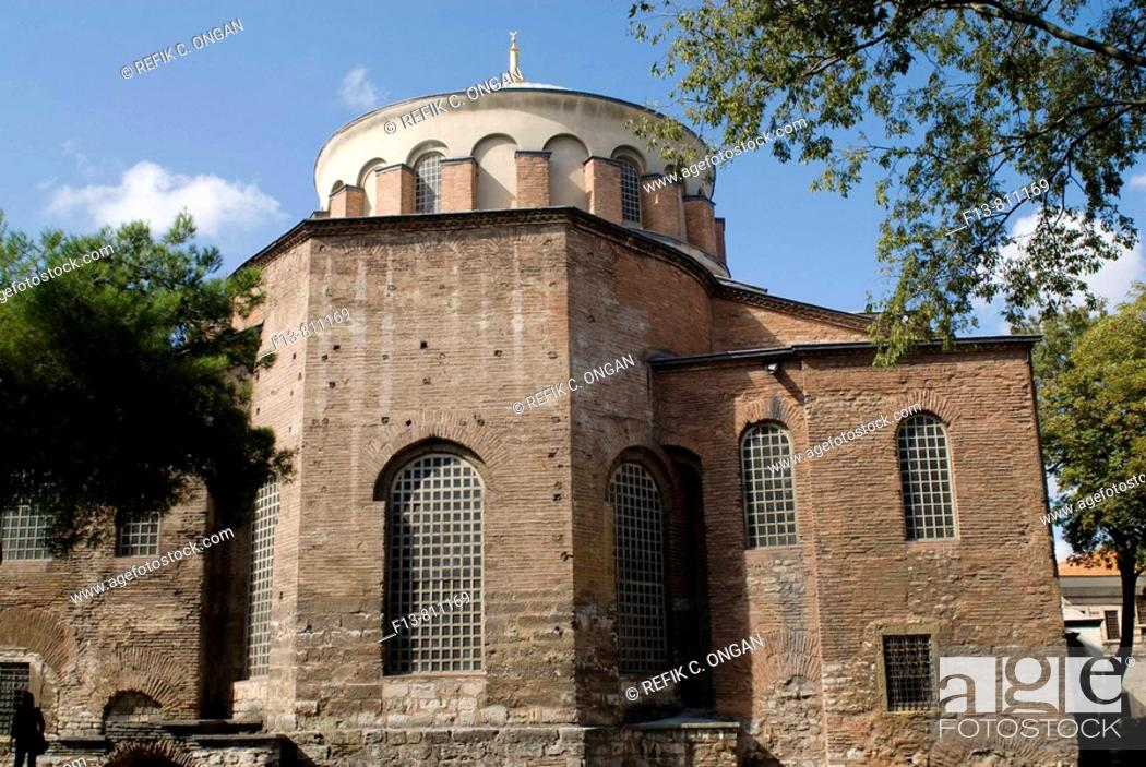 Stock Photo: the sacred peace church in Topkapi palace.