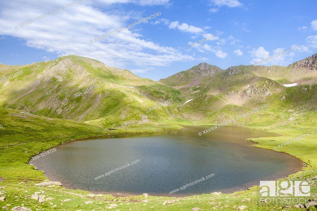 Imagen: Route to Ibones de Astun, Aragon Valley, Candanchú, HUesca, Spain.