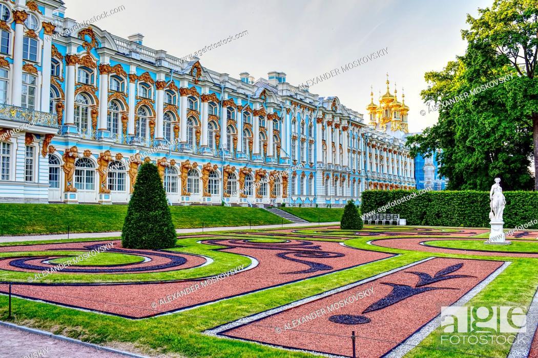 Stock Photo: Catherina the Great Grand Palace.