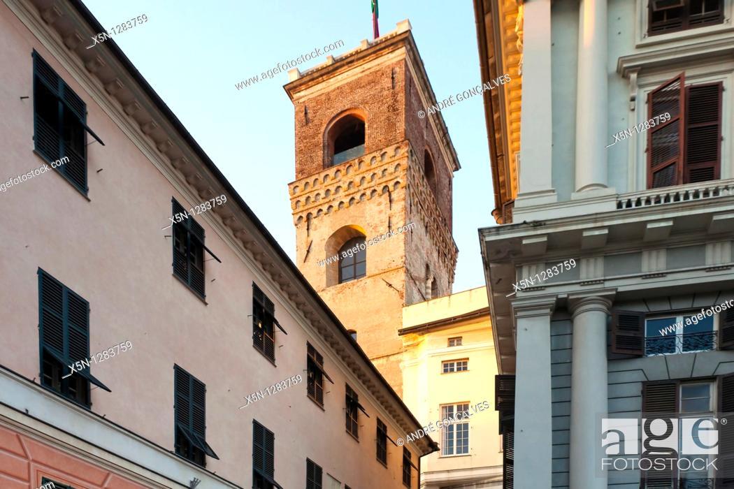 Stock Photo: Genova, Italy.