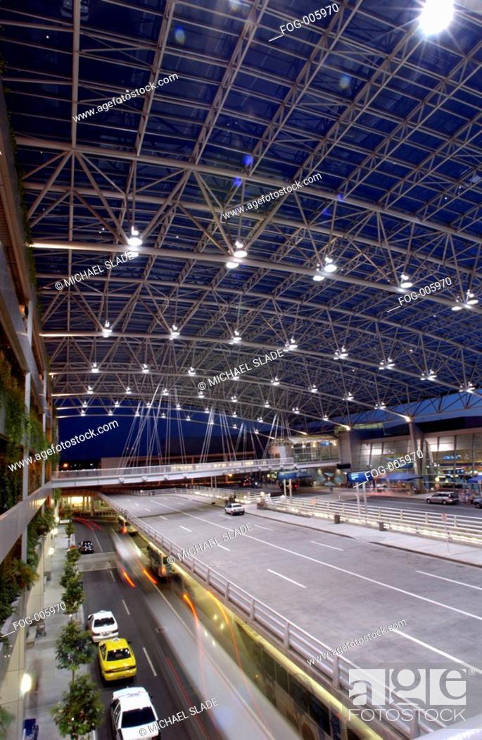 Stock Photo: Portland Airport.