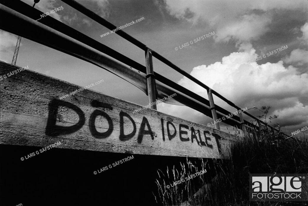 Stock Photo: Dead ideals, Sweden.