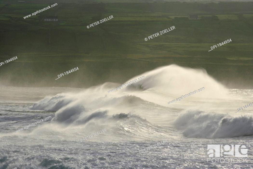 Stock Photo: Doolin Harbour, County Clare, Ireland.