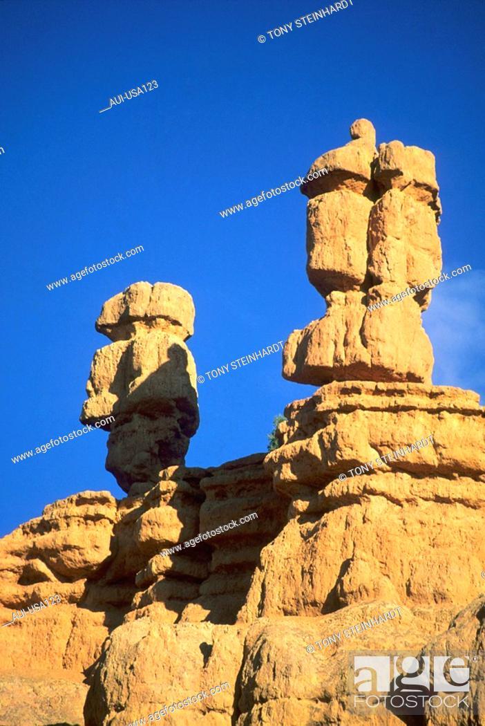 Stock Photo: USA - National Park - Bryce canyon.