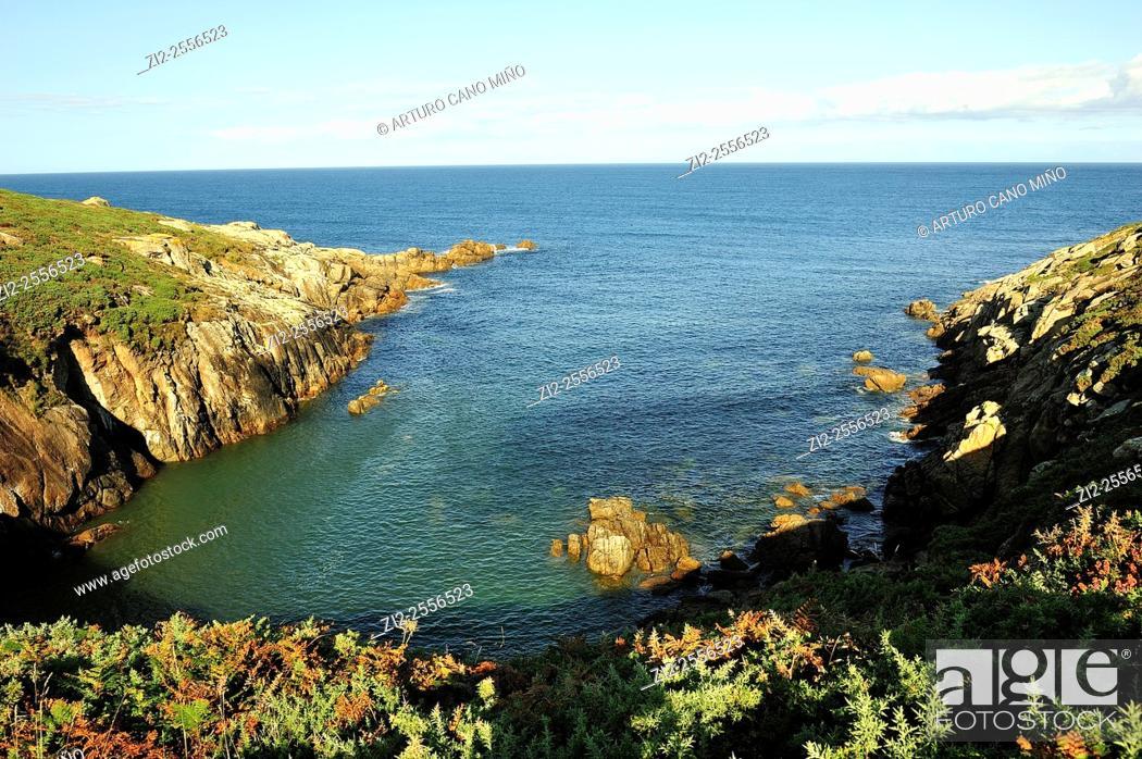 Stock Photo: Costa da Morte. Malpica de Bergantiños, La Coruña, Spain.