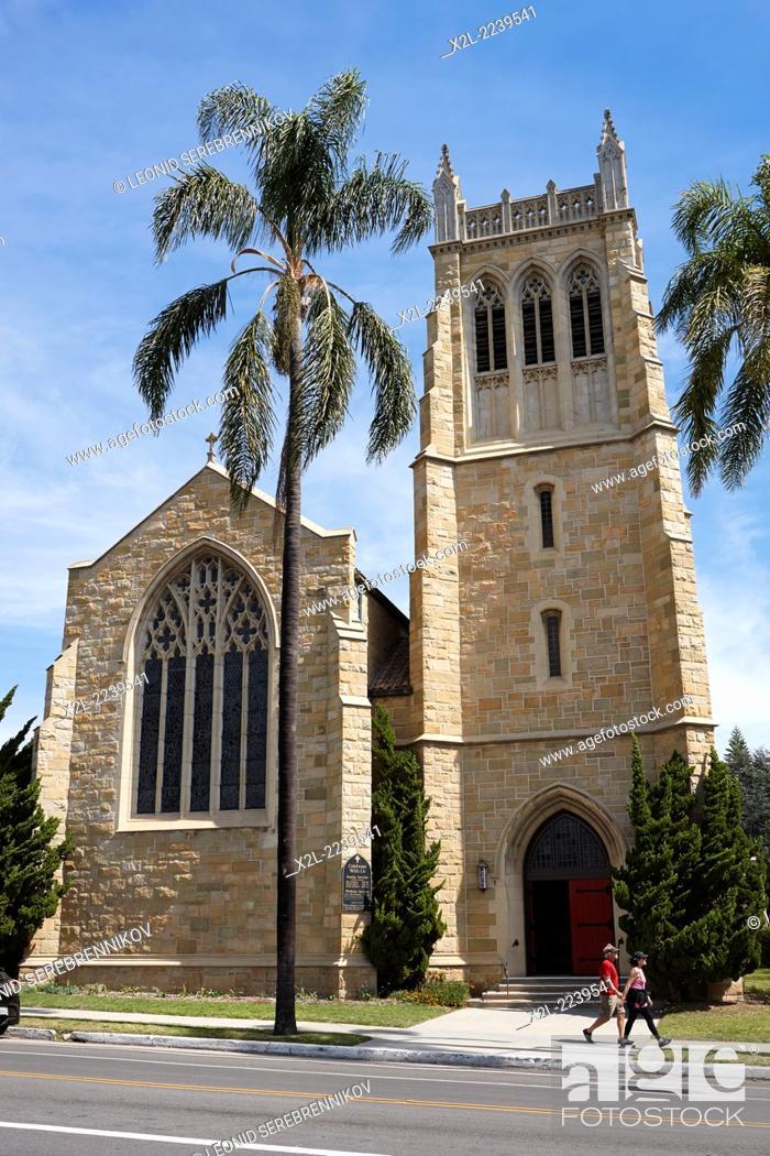 Imagen: Trinity Episcopal Church. Santa Barbara, California, USA.