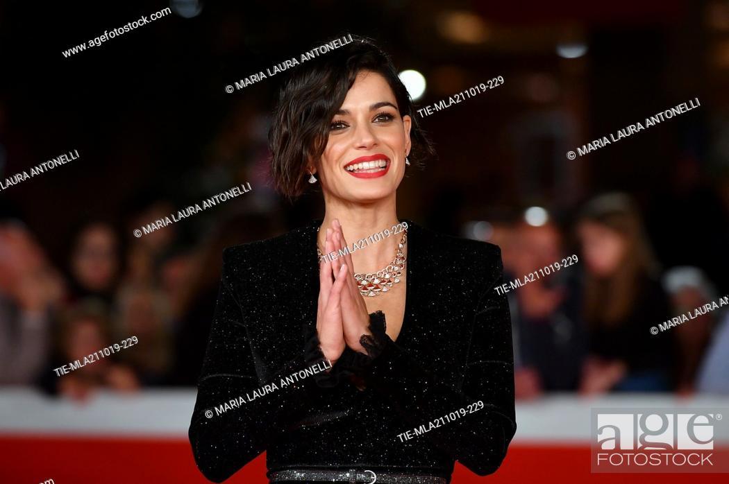 Imagen: Rosa Diletta Rossi during the red carpet of film ' Il ladro di giorni ' at the 14th Rome Film Festival, Rome, ITALY-20-10-2019.