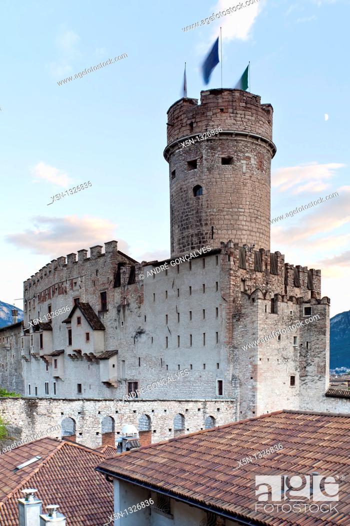 Stock Photo: Castle, Trento, Italy.